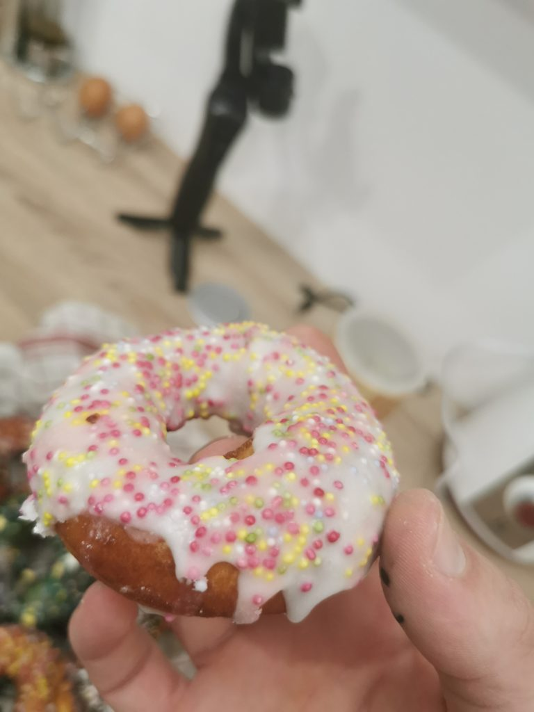 donuts sucre glace